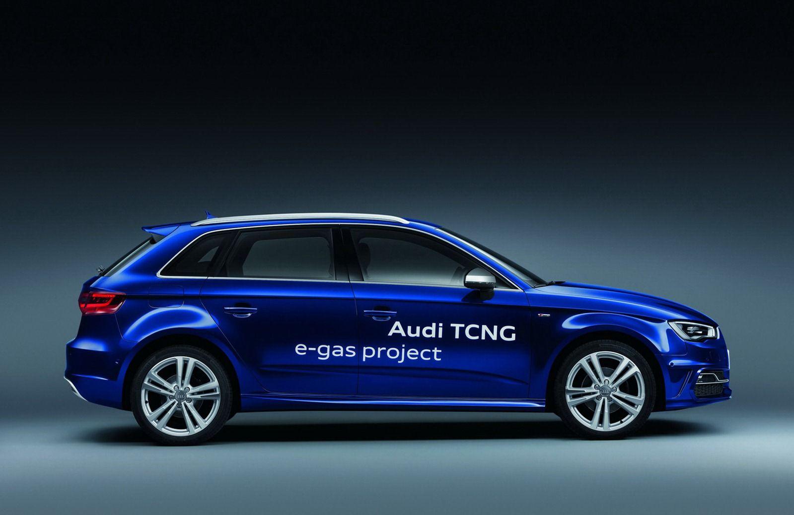 Ecco la nuova Audi A3 a gas