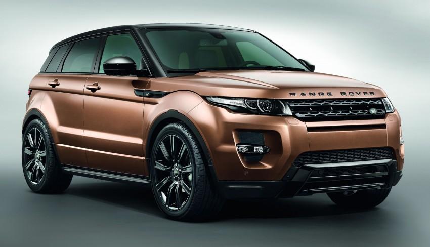 Range Rover Evoque A Ginevra con il modello aggiornato
